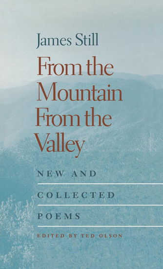 From the Mountain From the Valley - New and Collected Poems - cover