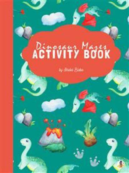 Baby Dinosaur Mazes Activity Book for Kids Ages 3+ (Printable Version) - cover