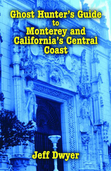 Ghost Hunter's Guide to Monterey and California's Central Coast - cover