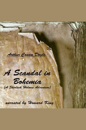 A Scandal in Bohemia - A Sherlock Holmes Adventure - cover