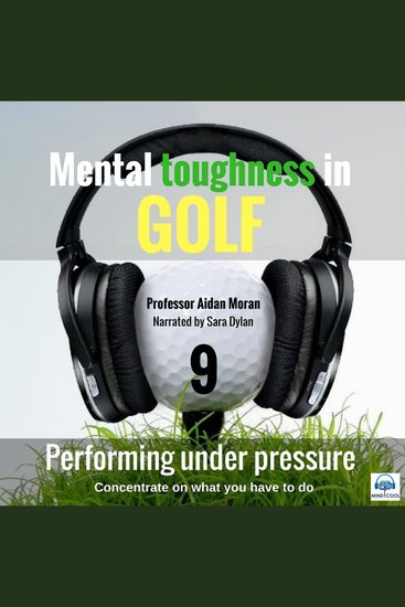 Performing under Pressure - Mental Toughness in Golf - cover
