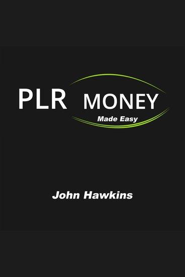 PLR Money Made Easy - cover
