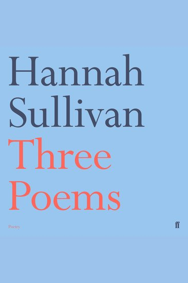 Three Poems - cover