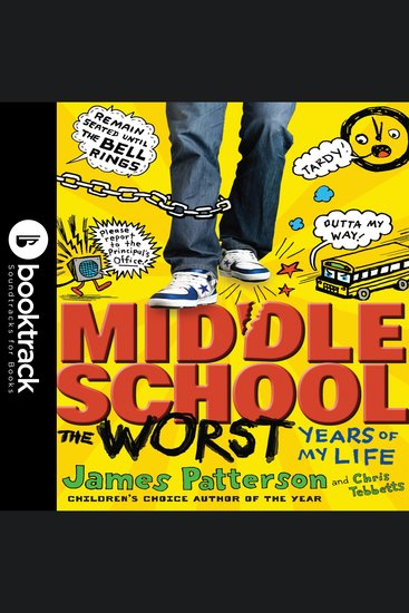Middle School The Worst Years of My Life - Booktrack Edition - cover