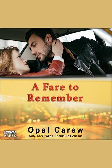 A Fare to Remember - cover
