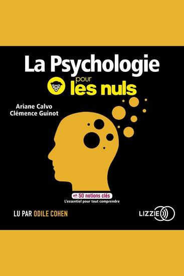 La psychologie pour les nuls en 50 notions clés - cover