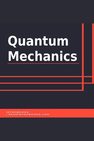 Quantum Mechanics - cover