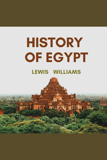 The History of Egypt - cover