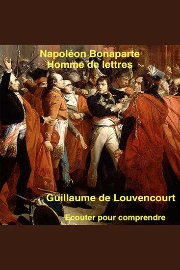 Bonaparte: homme de lettres - cover