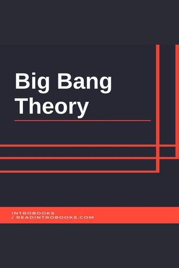 Big Bang Theory - cover