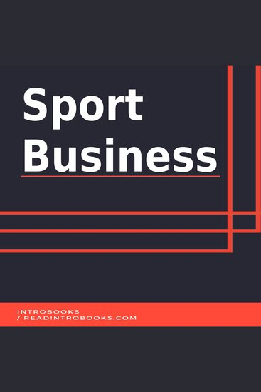 Sport Business - cover