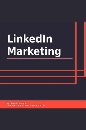 LinkedIn Marketing - cover