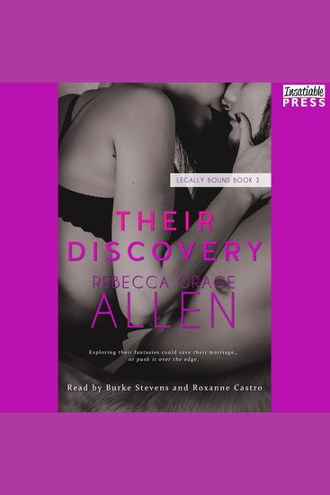 Their Discovery - Legally Bound Book Three - cover