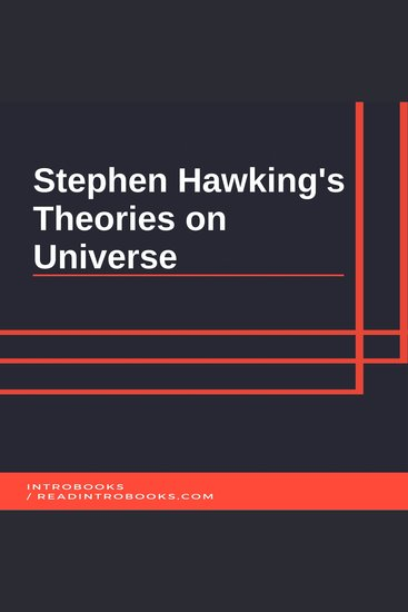 Stephen Hawking's Theories on Universe - cover