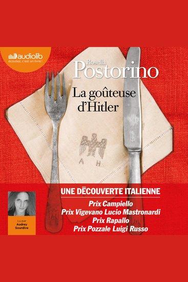 La Goûteuse d'Hitler - cover