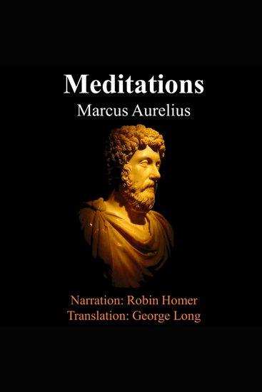 The Meditations of Marcus Aurelius - cover
