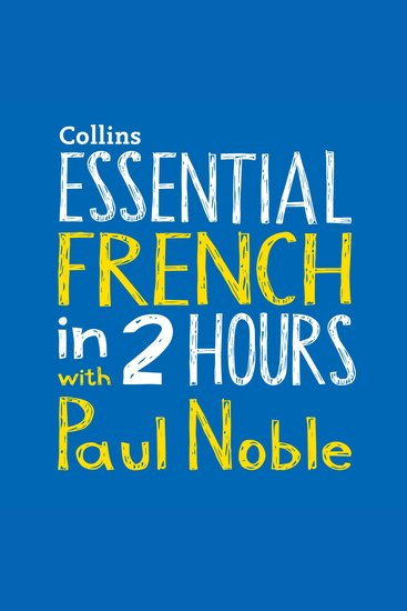 Destination French with Paul Noble - cover