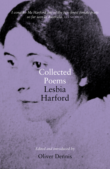 Collected Poems - Lesbia Harford - cover