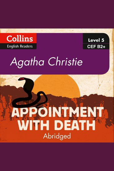 Appointment With Death - B2+ Collins Agatha Christie ELT Readers - cover