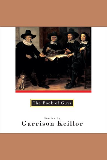 The Book of Guys - cover