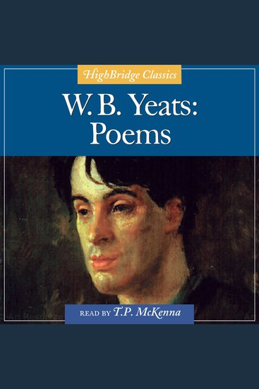 W B Yeats: Poems - cover