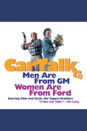 Car Talk: Men Are from GM Women Are from Ford - cover