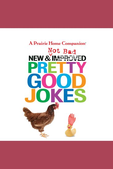 New and Not Bad Pretty Good Jokes - cover
