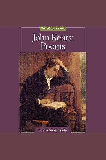 John Keats: Poems - cover