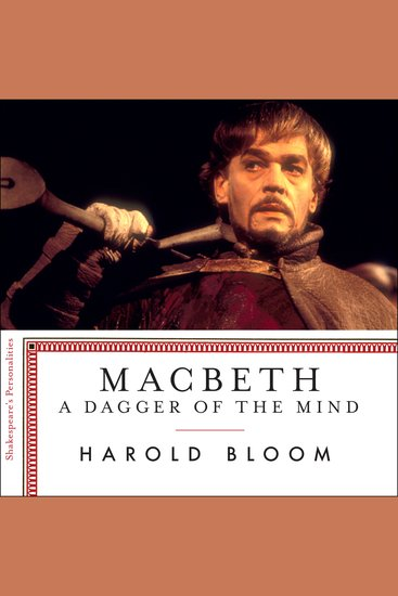 Macbeth - A Dagger Of The Mind - cover