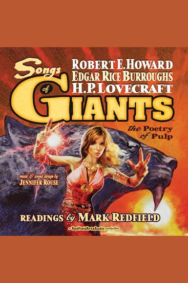 Songs of Giants - The Poetry of Pulp - cover