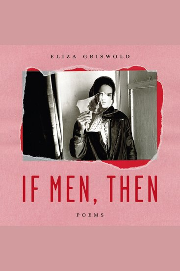 If Men Then - Poems - cover