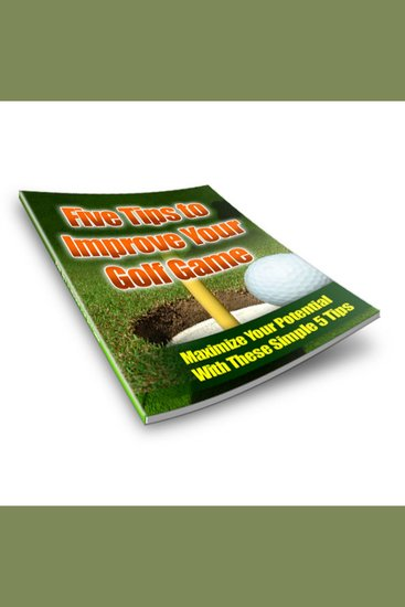 5 Tips to Improve Your Golf Game - cover