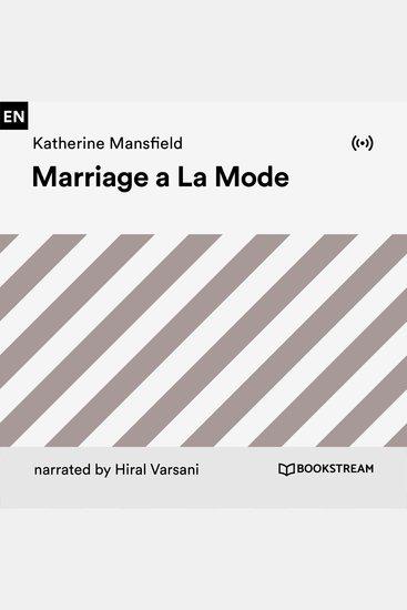 Marriage a La Mode - cover