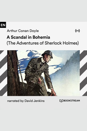 A Scandal in Bohemia - The Adventures of Sherlock Holmes - cover