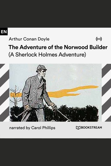 The Adventure of the Norwood Builder - A Sherlock Holmes Adventure - cover