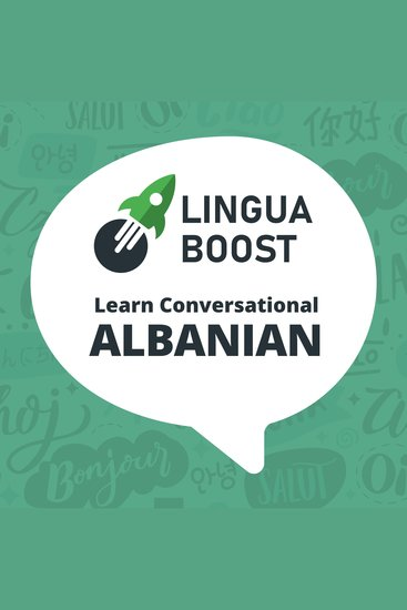 LinguaBoost - Learn Conversational Albanian - cover