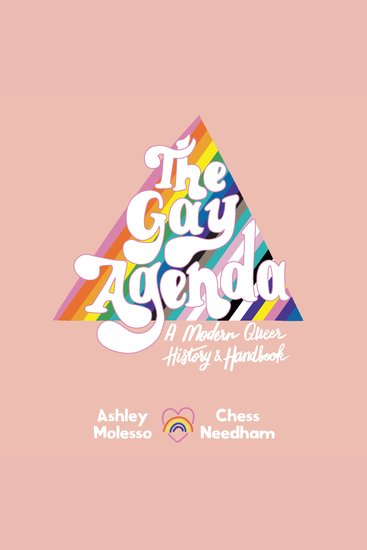 The Gay Agenda - A Modern Queer History & Handbook - cover