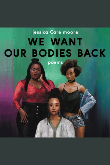 We Want Our Bodies Back - Poems - cover