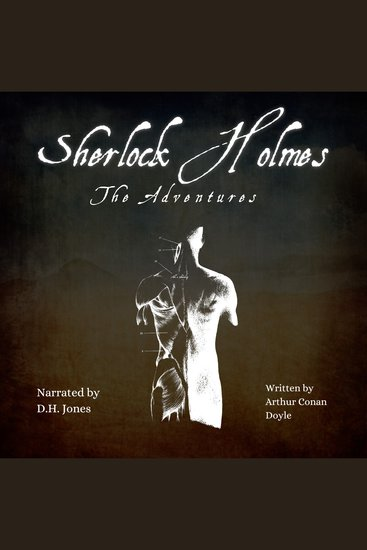 Sherlock Holmes - The Adventures - cover