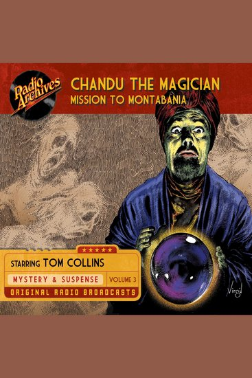Chandu the Magician Volume 3 - Mission to Montabania - cover