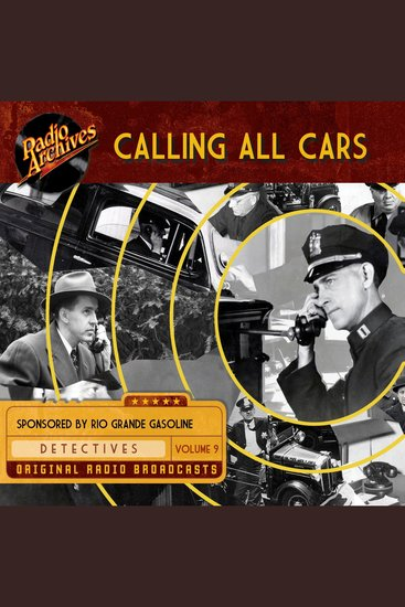 Calling All Cars Volume 9 - cover