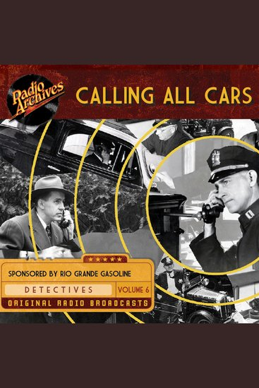 Calling All Cars Volume 6 - cover