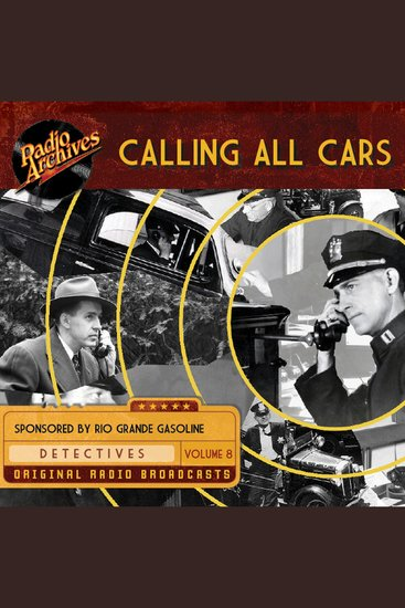 Calling All Cars Volume 8 - cover
