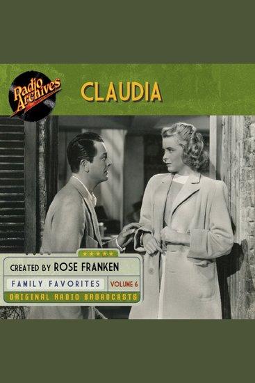 Claudia Volume 6 - cover