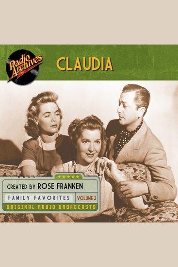 Claudia Volume 2 - cover