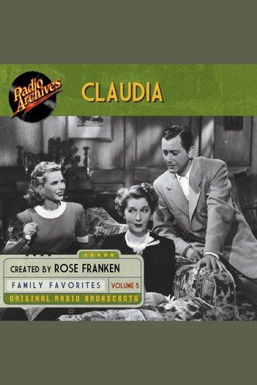 Claudia Volume 5 - cover
