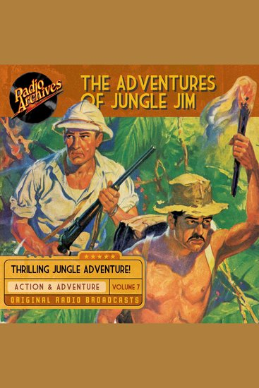 The Adventures of Jungle Jim Volume 7 - cover