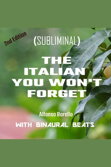 Italian You Won't Forget The: 2nd Edition - cover