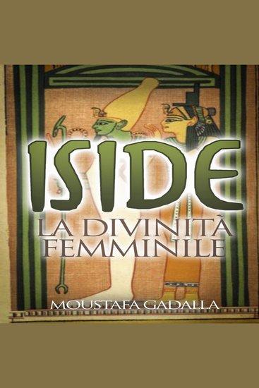 Iside La divinità femminile - cover