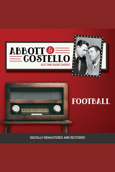 Abbott and Costello: Football - cover
